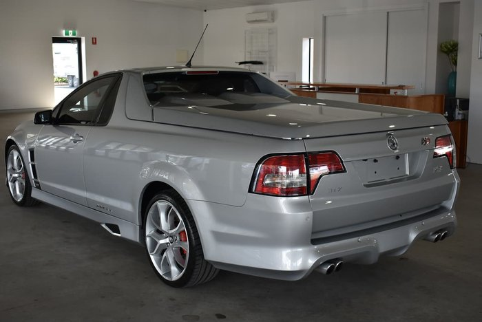 2012 Holden Special Vehicles Maloo R8 E Series 3 MY12 Silver