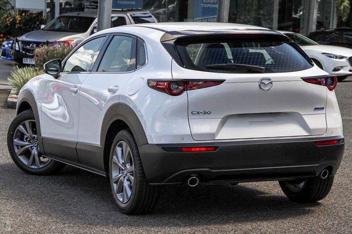 2021 Mazda CX-30 G20 Touring DM Series Snowflake White Pearl