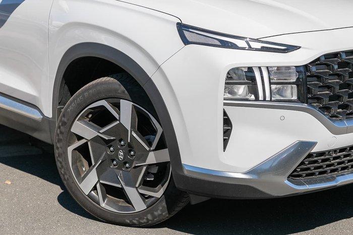 2021 Hyundai Santa Fe Elite TM.V3 MY21 White