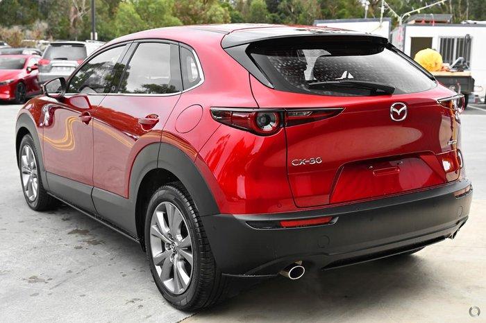 2021 Mazda CX-30 G20 Touring DM Series Red