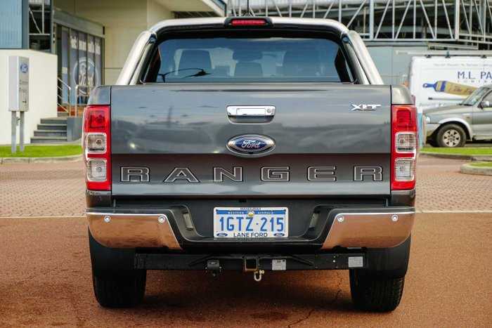2019 Ford Ranger XLT PX MkIII MY19.75 4X4 Dual Range Meteor Grey