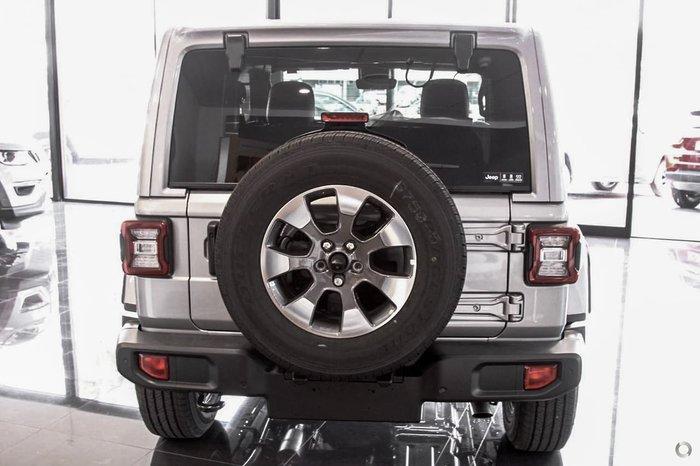 2021 Jeep Wrangler Overland JL MY21 4X4 Dual Range Silver
