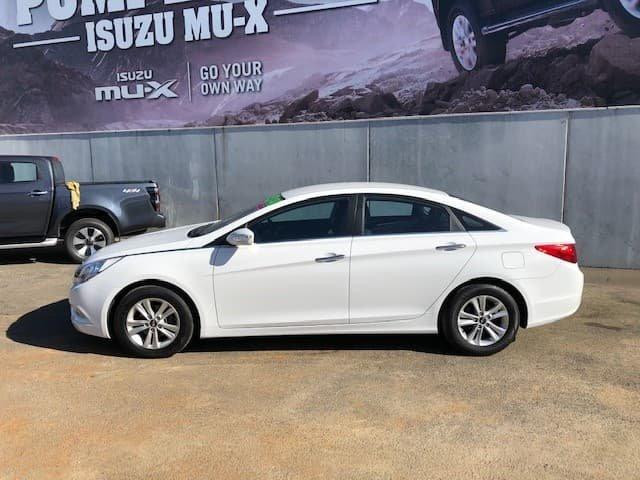 2012 Hyundai i45 Active YF MY11 Noble White
