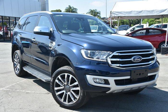2020 Ford Everest Titanium UA II MY20.25 4X4 Dual Range Blue