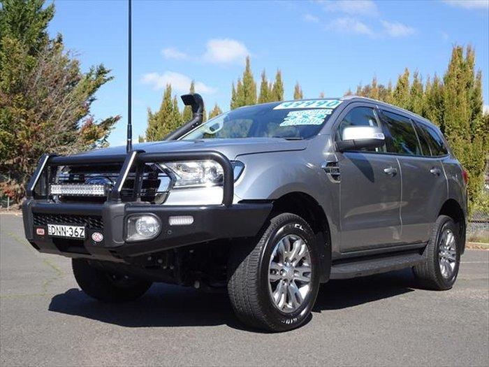 2017 Ford Everest Trend UA 4X4 Dual Range Silver
