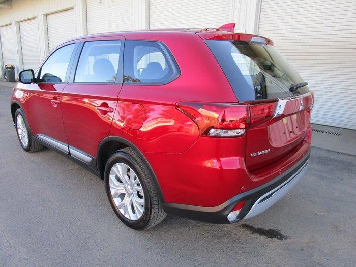 2021 Mitsubishi Outlander ES ZL MY21 AWD Red