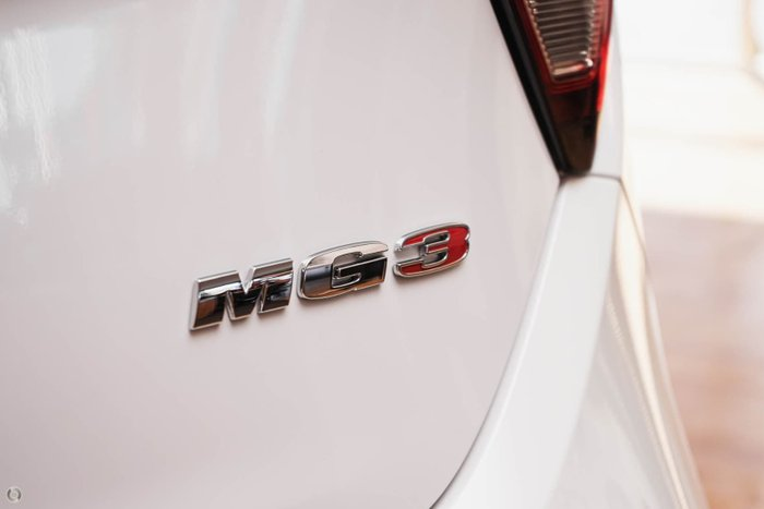 2021 MG MG3 Core MY21 Dover White