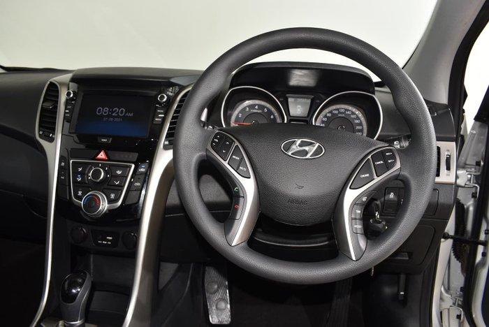 2016 Hyundai i30 Active GD4 Series II MY17 Silver