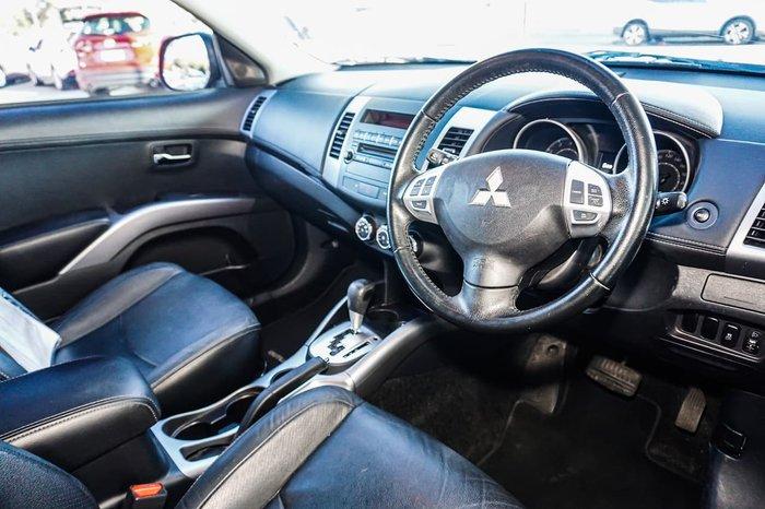 2012 Mitsubishi Outlander LS ZH MY12 Grey