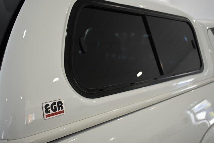 2012 Mitsubishi Triton GLX-R MN MY12 4X4 Dual Range White