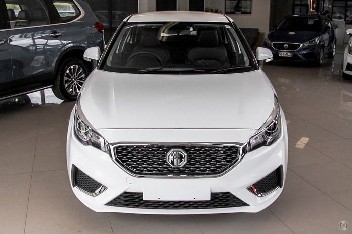 2021 MG MG3 Excite MY21 White
