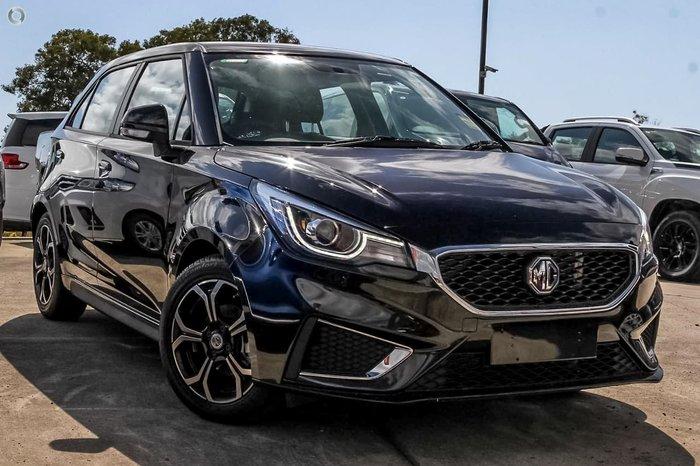 2021 MG MG3 Excite MY21 Black