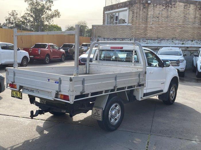 2014 Holden Colorado LX RG MY14 White