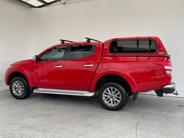 2017 Mitsubishi Triton GLS MQ MY17 4X4 Dual Range Red