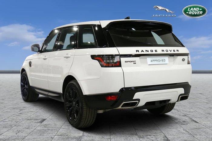 2020 Land Rover Range Rover Sport DI6 183kW SE L494 MY21 4X4 Constant White