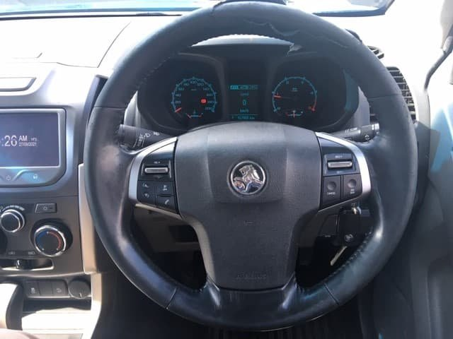 2015 Holden Colorado LT RG MY15 4X4 Dual Range Blue