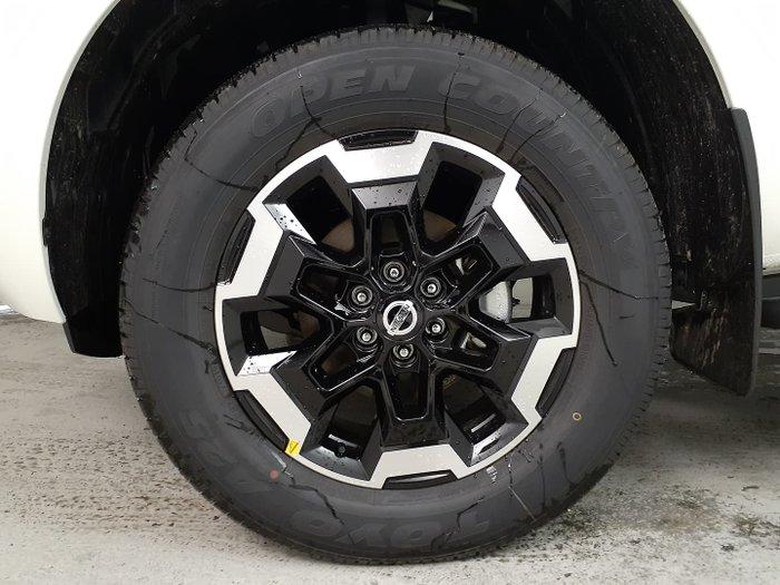 2021 Nissan Navara ST-X D23 4X4 Dual Range White Pearl