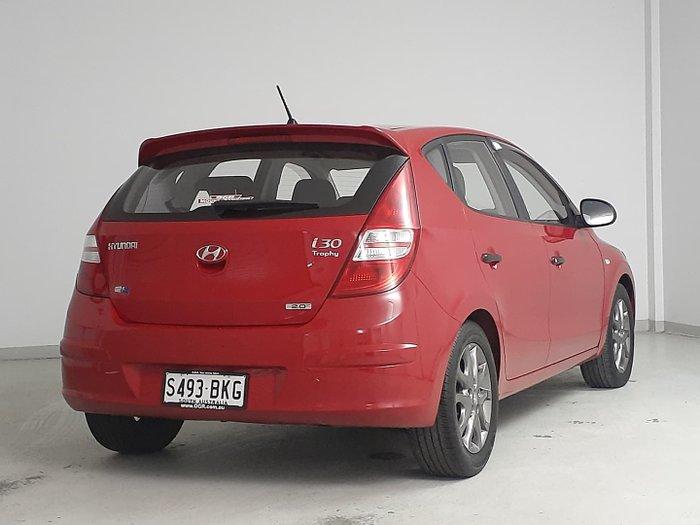 2011 Hyundai i30 SX FD MY11 Shine Red
