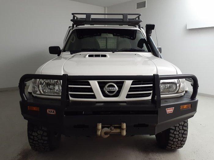 2004 Nissan Patrol ST GU II 4X4 Dual Range White