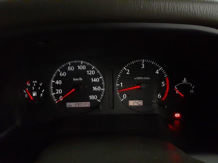 2000 Nissan Patrol ST GU II 4X4 Dual Range Red