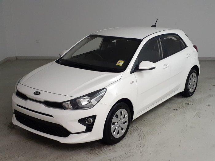 2021 Kia Rio S YB MY21 Clear White