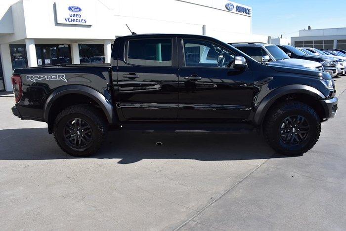 2020 Ford Ranger Raptor PX MkIII MY20.75 4X4 Dual Range Black