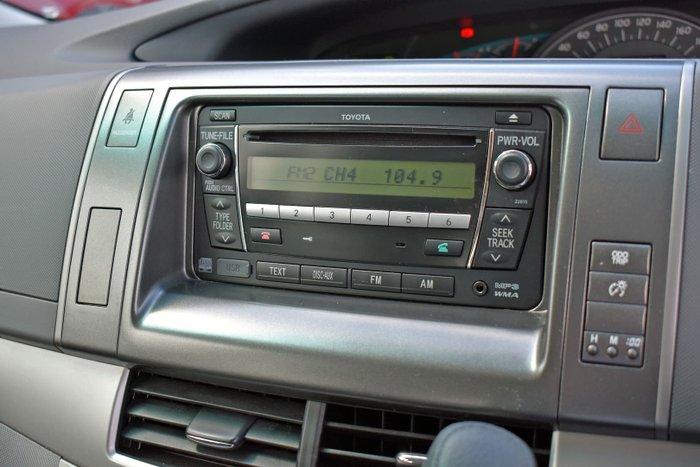2011 Toyota Tarago GLi ACR50R MY09 Gold
