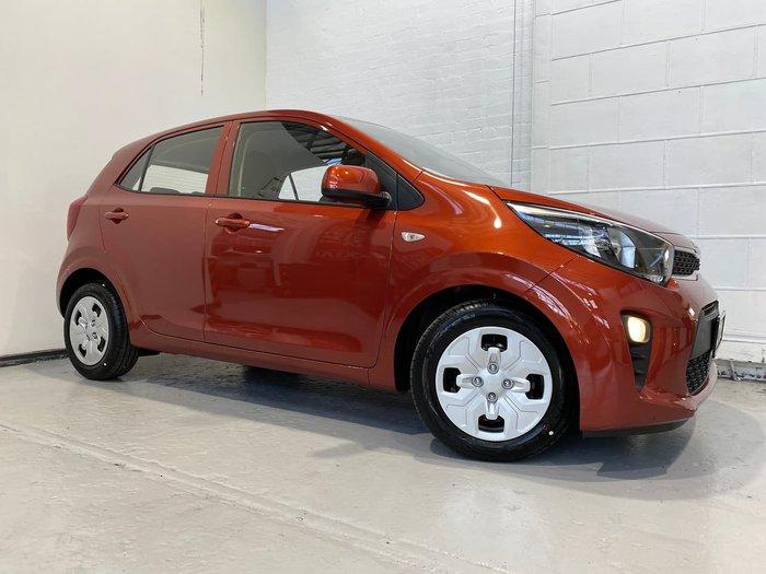 2021 Kia Picanto S JA MY22 Orange