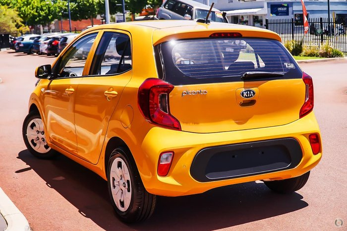 2021 Kia Picanto S JA MY21 Yellow