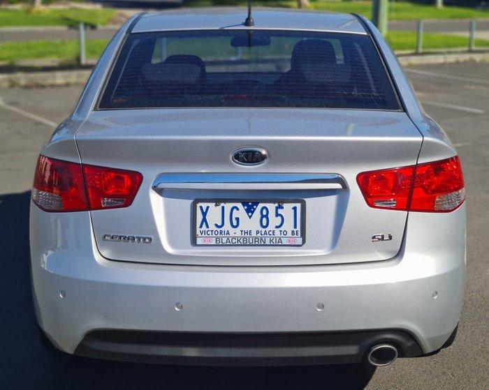 2009 Kia Cerato SLi TD MY10 Silver