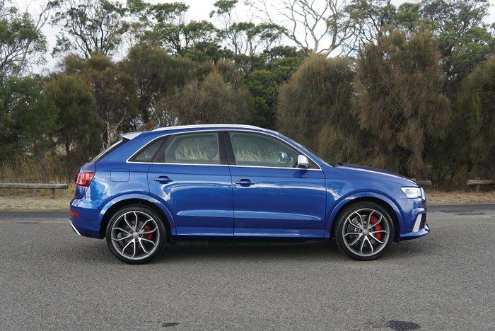 2014 Audi RS Q3 8U MY14 Four Wheel Drive Sepang Blue