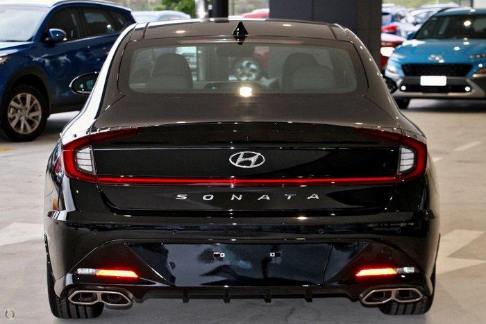 2021 Hyundai Sonata N Line DN8.V1 MY21 Midnight Black