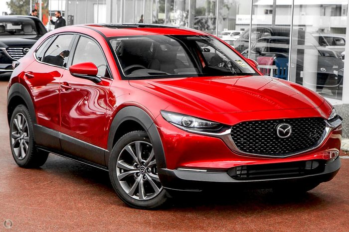 2021 Mazda CX-30 G25 Astina DM Series AWD Red