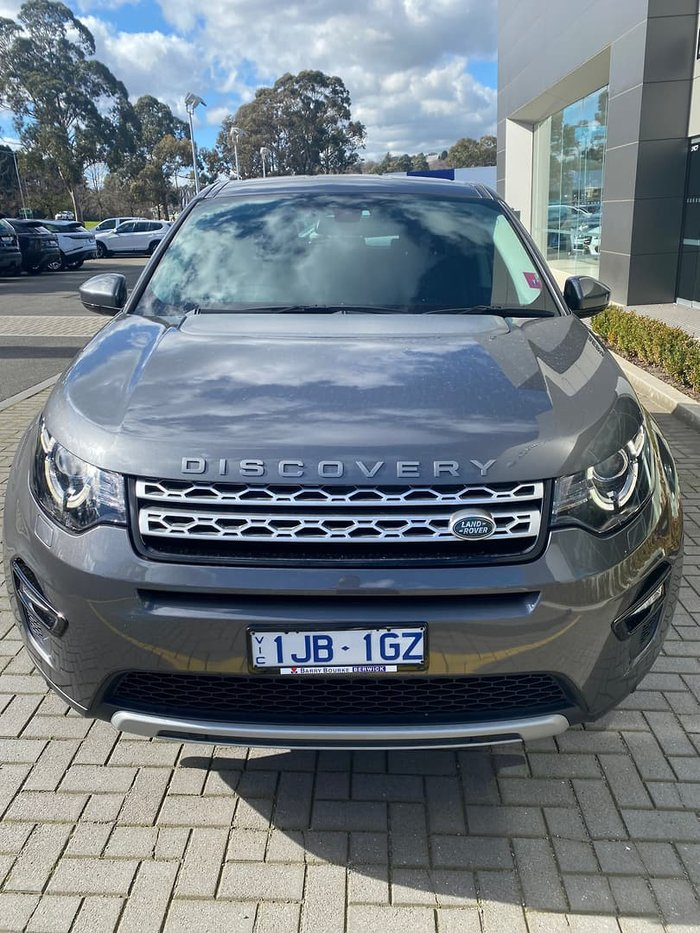 2016 Land Rover Discovery Sport TD4 180 HSE L550 MY17 4X4 Constant Grey