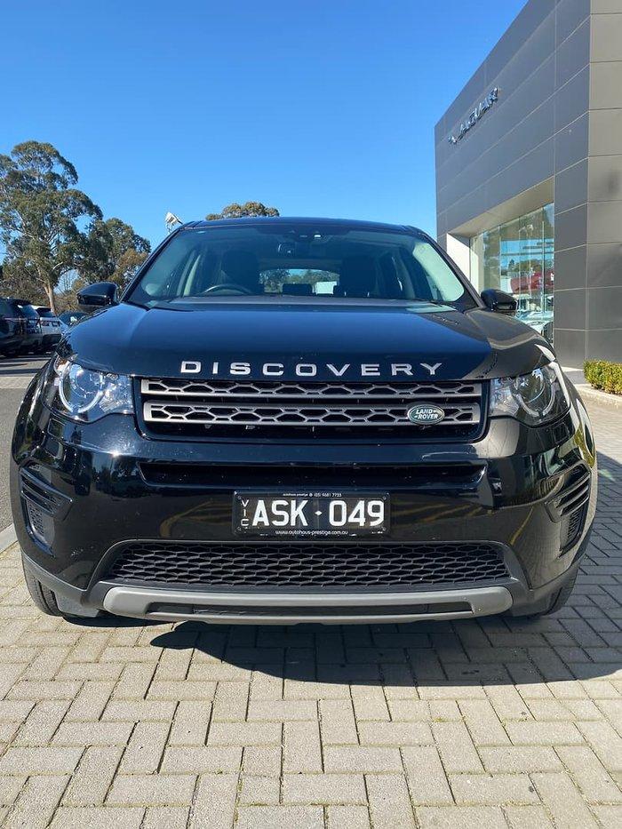 2018 Land Rover Discovery Sport TD4 110kW SE L550 MY18 4X4 Constant Santorini Black