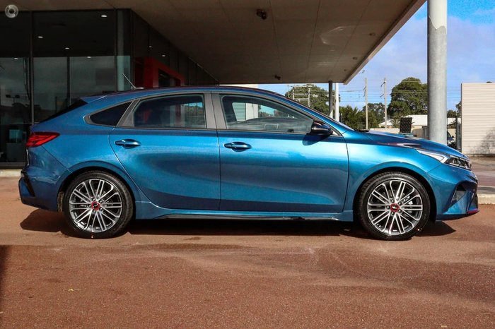 2021 Kia Cerato GT BD MY22 Blue