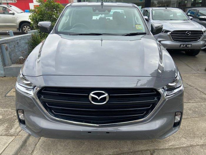 2021 Mazda BT-50 XT TF 4X4 Dual Range Concrete Grey