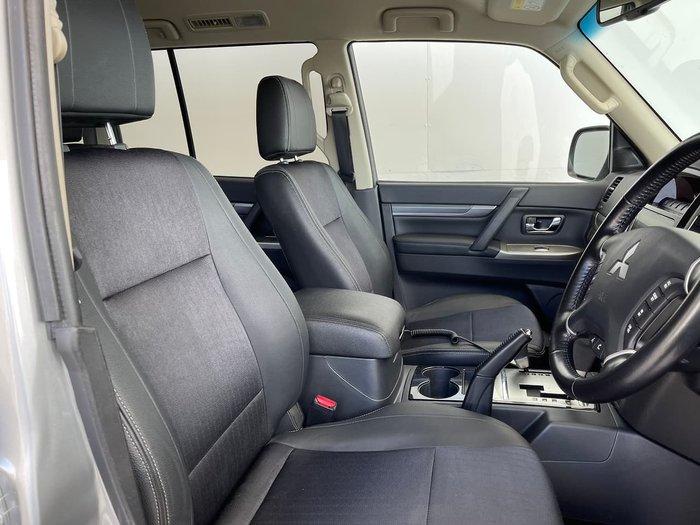 2018 Mitsubishi Pajero GLS NX MY18 4X4 Dual Range Silver