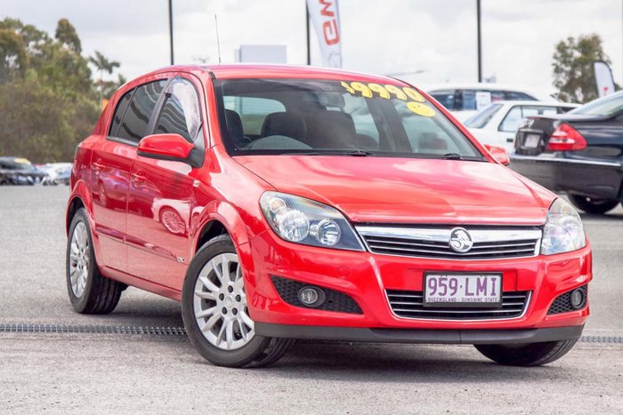 2008 Holden Astra CDX AH MY09 Power Red