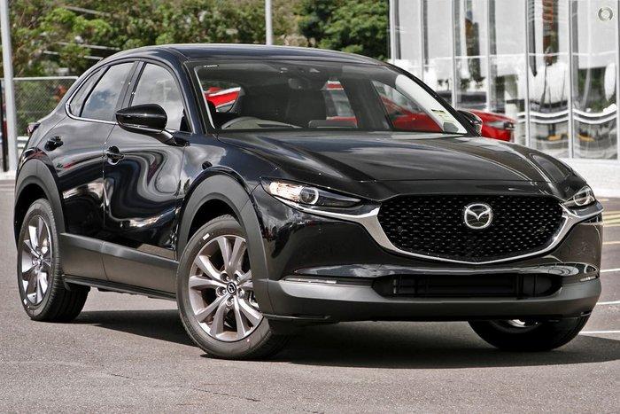 2021 Mazda CX-30 G25 Astina DM Series Black