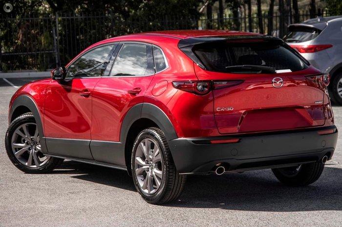 2021 Mazda CX-30 G25 Touring DM Series Red