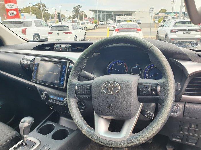 2015 Toyota Hilux SR5 GUN126R 4X4 Dual Range Black