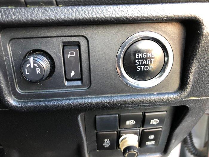 2018 Toyota Landcruiser Prado GXL GDJ150R 4X4 Dual Range Silver Pearl
