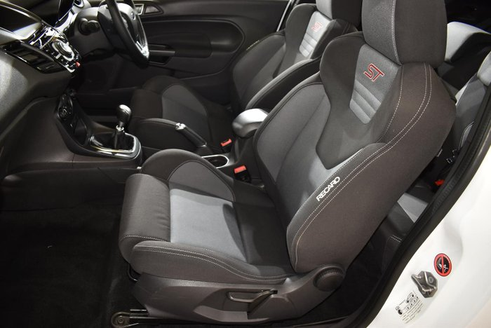 2016 Ford Fiesta ST WZ Frozen White