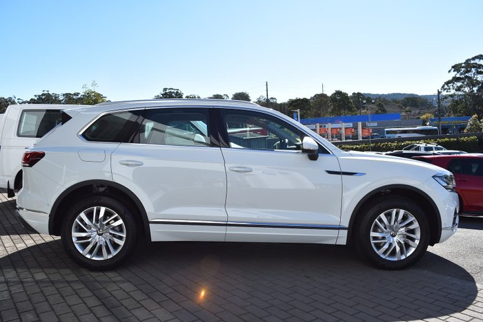 2021 Volkswagen Touareg 170TDI CR MY21 Four Wheel Drive Pure White