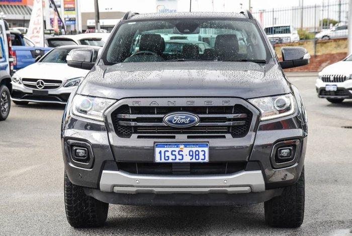2019 Ford Ranger Wildtrak PX MkIII MY19 4X4 Dual Range Grey
