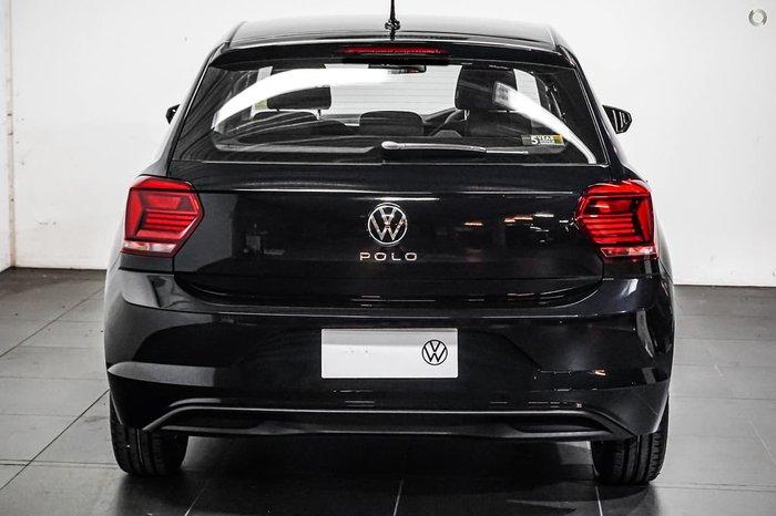 2021 Volkswagen Polo 70TSI Trendline AW MY21 Black