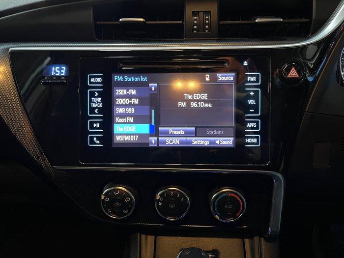 2017 Toyota Corolla Ascent Sport ZRE182R Silver