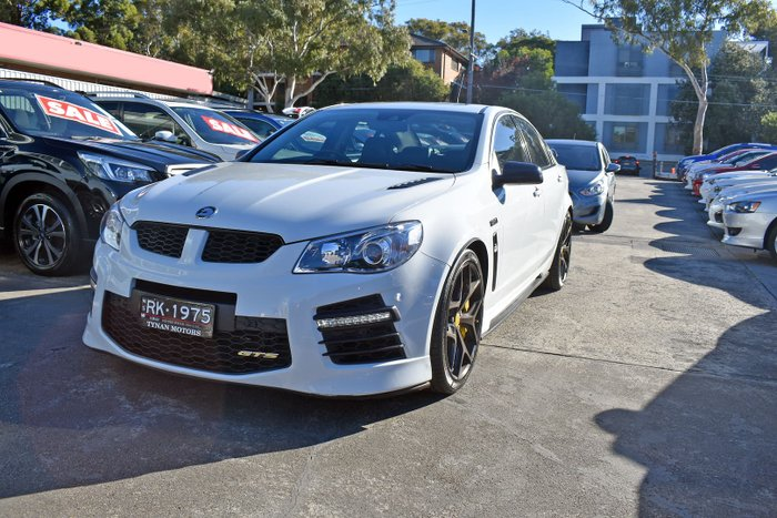 2017 Holden Special Vehicles GTS 30th Anniversary GEN-F2 MY17 Heron White