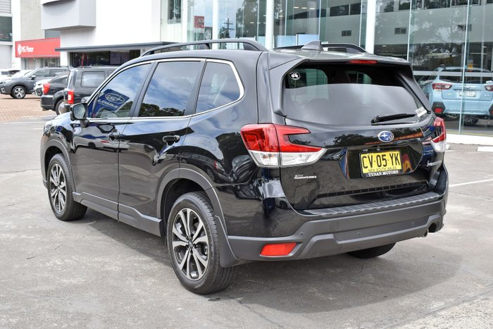 2019 Subaru Forester 2.5i Premium S5 MY20 AWD Crystal Black